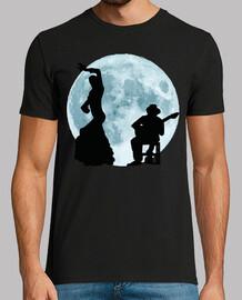 Bailando Flamenco con la Luna Llena
