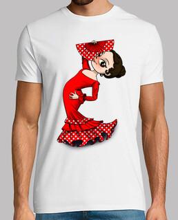 Bailarina flamenca