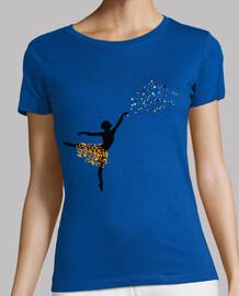 Bailarina Hojas y Estrellas
