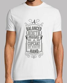 Balanced Diet: Cupcake in Each Hand