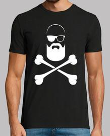 bald pirate with a beard