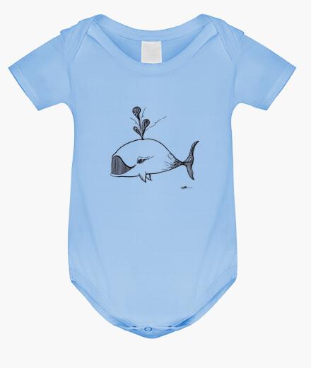 Vêtements enfant baleine - body
