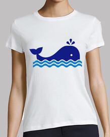 baleine bleue dessinée