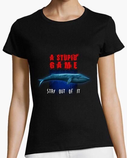 Camiseta ballena azul - un juego estúpido