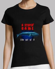 ballena azul - un juego estúpido