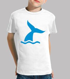 ballena de aleta azul