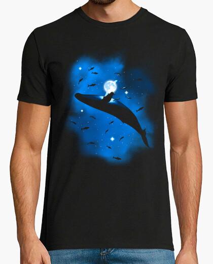 Camiseta Ballena en el espacio