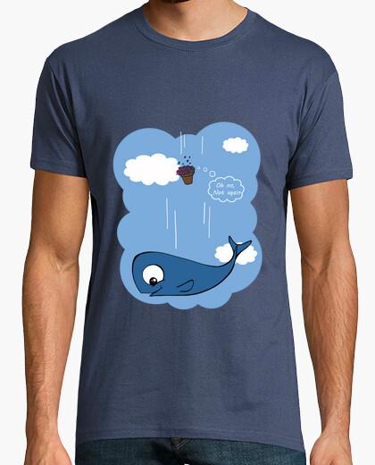 Camiseta Ballena y petunias 1H