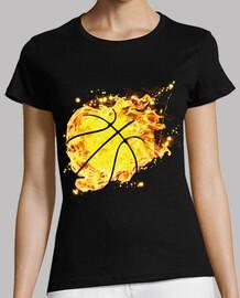 ballon de basket cerf-volant