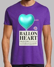 ballon de coeur homme