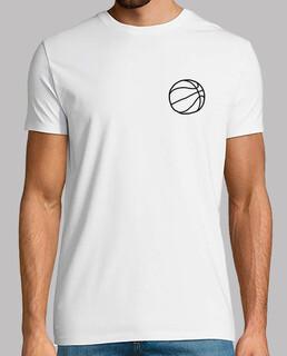 Balón Baloncesto Camiseta Hombre