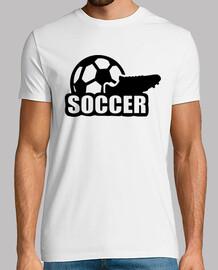 balón de fútbol zapato