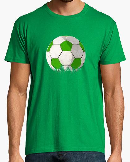 Camiseta Balon Verde y blanco by Glez