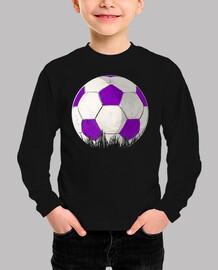 Balon violeta FÚTBOL