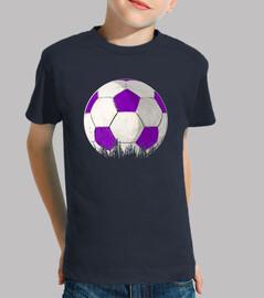 Balon violeta y blanco by Glez