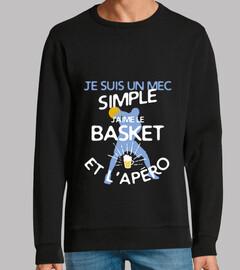 baloncesto - un chico simple