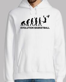 baloncesto de evolución