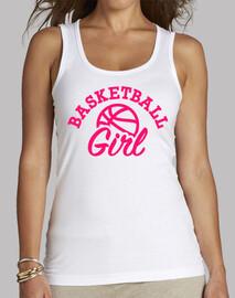 baloncesto de la muchacha