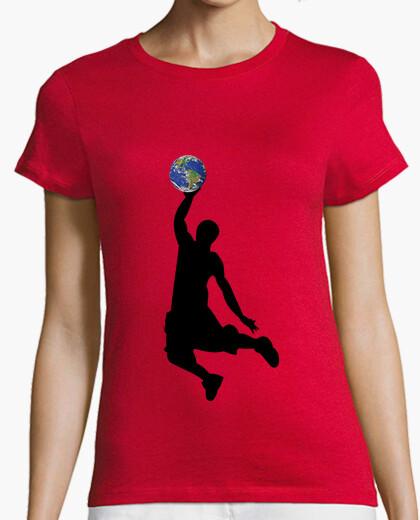 Camiseta baloncesto tierra