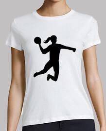 balonmano chica mujer