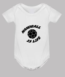 balonmano cuerpo del bebé
