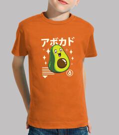 bambini camicia kawaii avocado