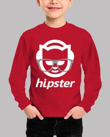 bambini manica lunga hipster bianchi