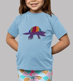 bambino blu dinodechse