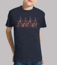 Bambú - Camiseta manga corta infantil