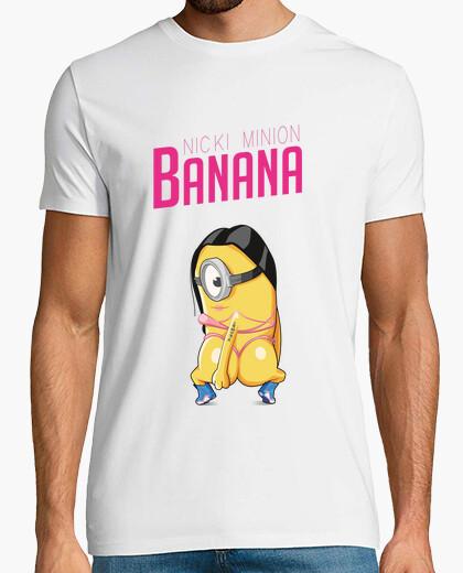 Camiseta banana - nicki camisa de hombre subordinado