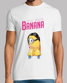 banana - nicki camisa de hombre subordinado