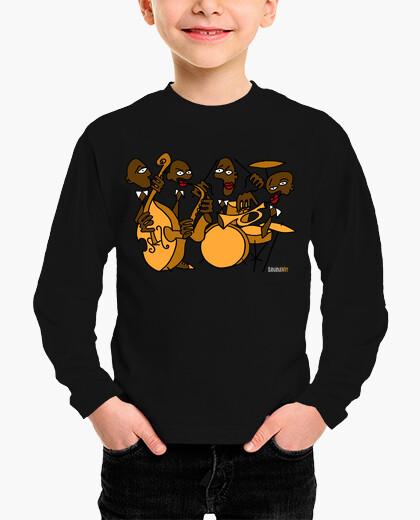 Banana jazz band children's clothes