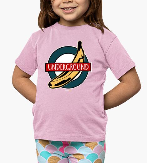 Ropa infantil Banana Underground