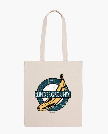 Banana underground vintage bag