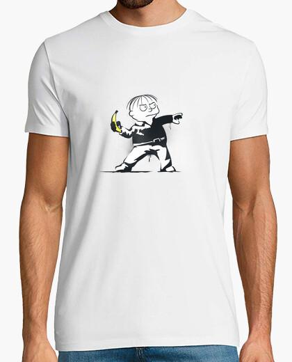 T-shirt banane lanciatore