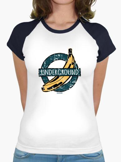 T-shirt banane sotterraneo vintage