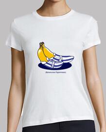 bananunes pajaminesis camisa para mujer