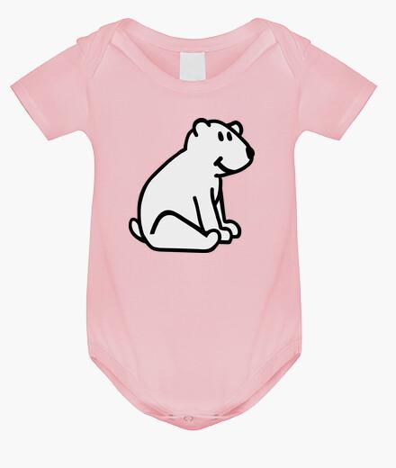 Vêtements enfant bande dessinée ours polaire