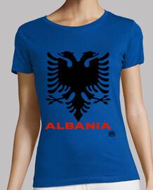 BANDERA ALBANIA. PUERTO POLLO