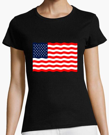 Camiseta Bandera americana estados bnidos