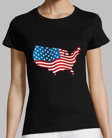 Bandera americana estados unidos