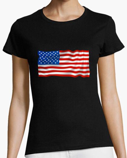 Camiseta Bandera americana estados unidos