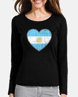 bandera argentina amor corazon
