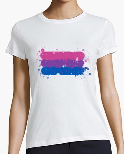 Camiseta Bandera Bisexual