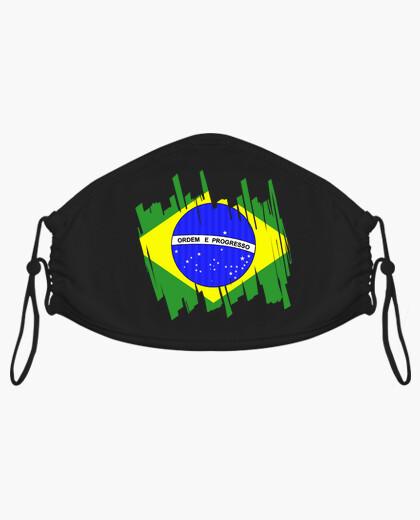 Mascarilla Bandera Brasil