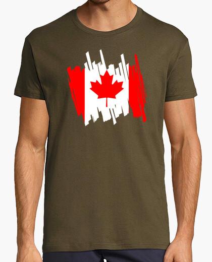Camiseta Bandera Canadá