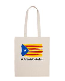 Bandera catalunya je suis catalan