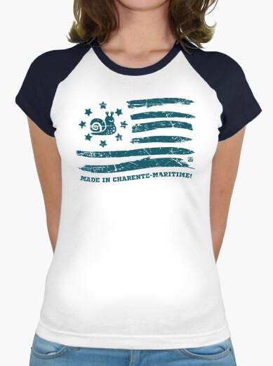 Camiseta bandera charente-maritima