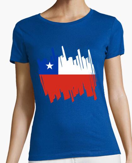 Camiseta Bandera Chile