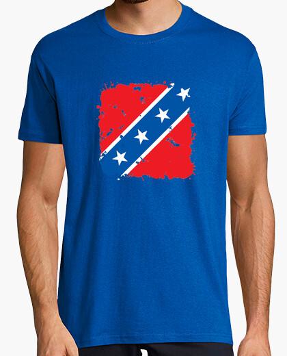 Camiseta Bandera confederada